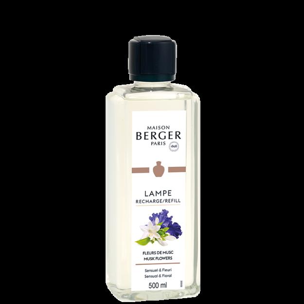 Recarga de perfume para lámpara Fleur de Musc 500ml