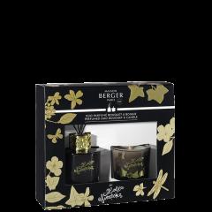 Dúo mini Bouquet & Vela Lolita Lempicka Black Edition
